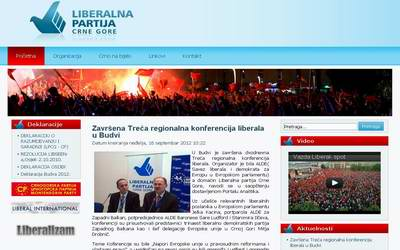liberalna partija crne gore