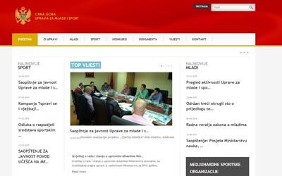 www.upravazamladeisport.me